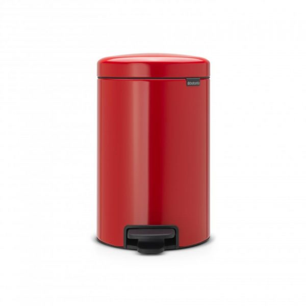 Brabantia newIcon pedaalemmer 12 l - Passion Red