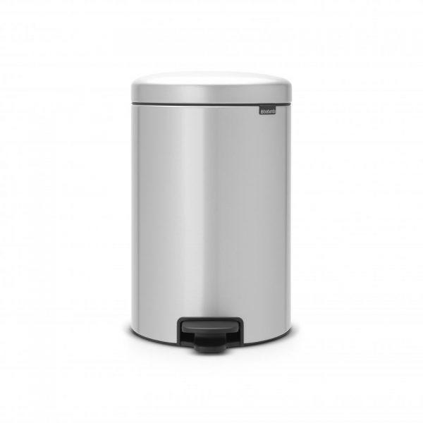 Brabantia newIcon pedaalemmer 20 l - Metallic Grey