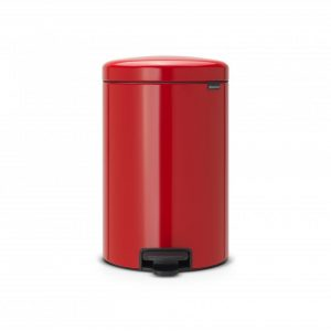 Brabantia newIcon pedaalemmer 20 l - Passion Red