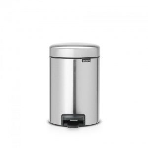 Brabantia newIcon pedaalemmer 3 l - Matt Steel Fingerprint Proof