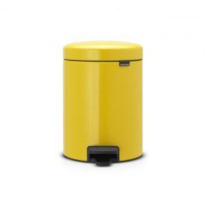 Brabantia newIcon pedaalemmer 5 l - Daisy Yellow