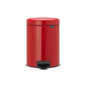 Brabantia newIcon pedaalemmer 5 l - Passion Red
