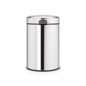 Brabantia newIcon wandafvalemmer - 3 l - Brilliant Steel