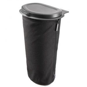 Cartrash autoprullenbak Flextrash Large 9 liter zwart