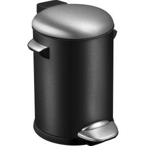 EKO Belle Deluxe pedaalemmer 3 l - zwart
