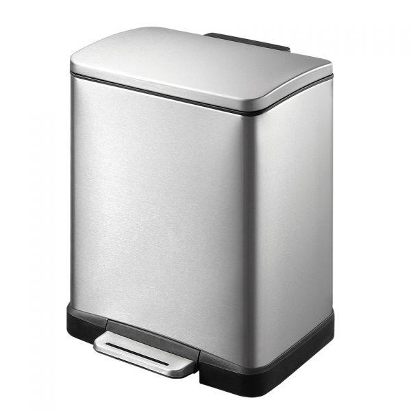 EKO E-Cube pedaalemmer - 12 l - mat RVS