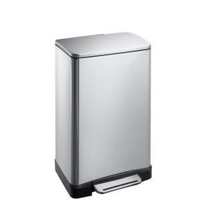 EKO E-Cube pedaalemmer - 30 l - mat RVS