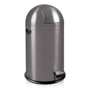 EKO Kickcan pedaalemmer - 33 l - grijs