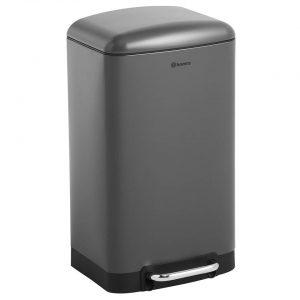 Homra FEXBY prullenbak - 30 liter pedaalemmer - Antraciet