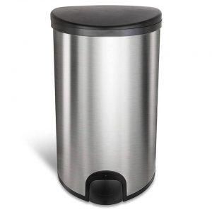 Homra KICK ME Sensor Prullenbak - 50 liter