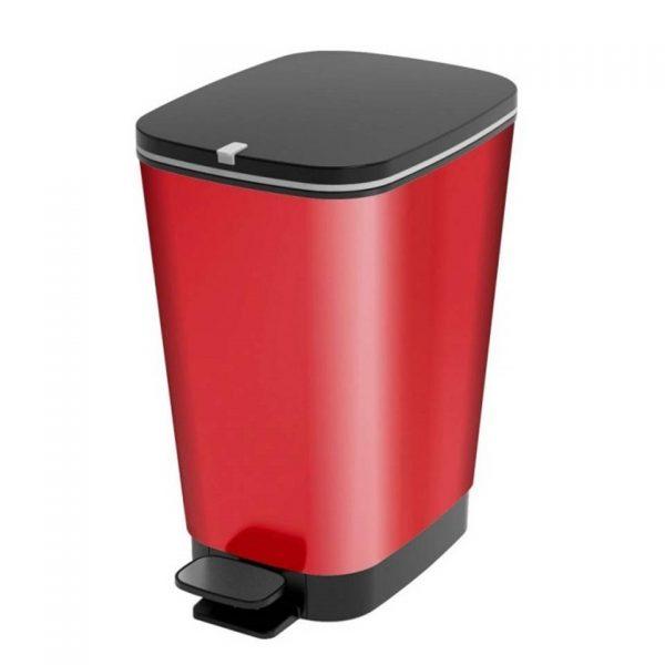 Kis Pedaalemmer Chic Bin - 30 liter - Rood