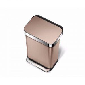 Simplehuman Liner prullenbak - 45 L - roze