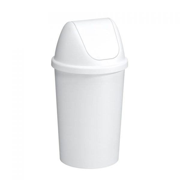Sunware afvalbak met swing deksel - 45 l - wit