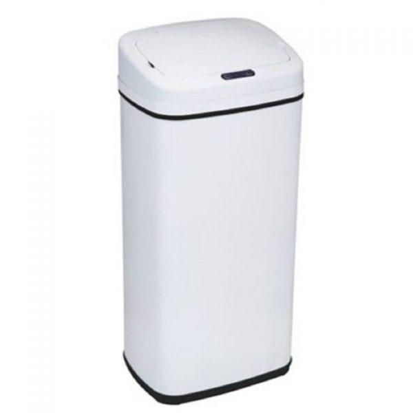 4cookz Clever Square White sensor prullenbak - 30 liter - wit