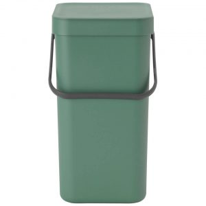 Brabantia Sort & Go afvalemmer 12 liter - Fir Green