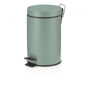 Kela Monaco Pedaal Afvalemmer - 3 liter - Groen - Kel