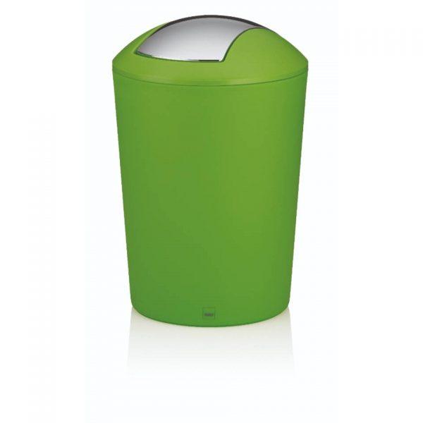 Marta Afvalemmer Swing - 5 liter - Groen - Kela