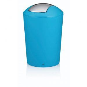 Marta Afvalemmer Swing - 5 liter - Turquoise - Kela
