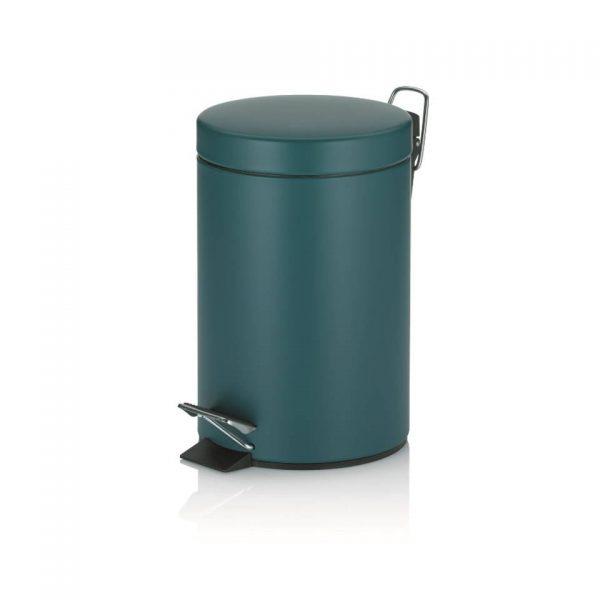 Monaco Pedaal Afvalemmer - 3 liter - Donker Blauw - Kela