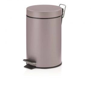 Monaco Pedaal Afvalemmer - 3 liter - Lila - Kela