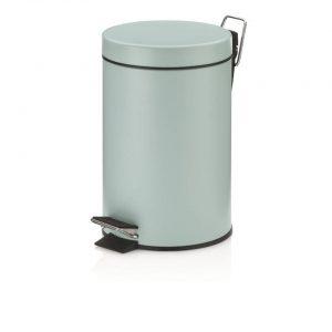 Monaco Pedaal Afvalemmer - 3 liter - Pastel Blauw - Kela