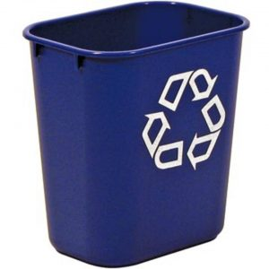 Rubbermaid recylagebak