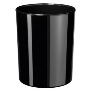 papierbak HAN i-Line 13 liter hoogglans zwart