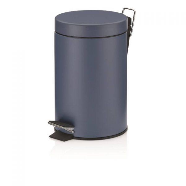 Monaco Pedaal Afvalemmer - 3 liter - Blauw - Kela