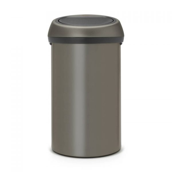 Touch Bin Afvalemmer - 60 liter - Platinum