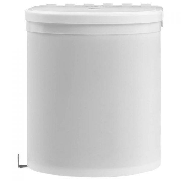vidaXL Keukenvuilnisbak inbouw 8 L kunststof