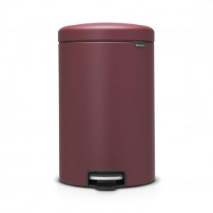 Brabantia newIcon pedaalemmer - 20 l - Mineral Windsor Red