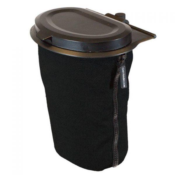 Cartrash autoprullenbak Flextrash S met clips 3 liter zwart