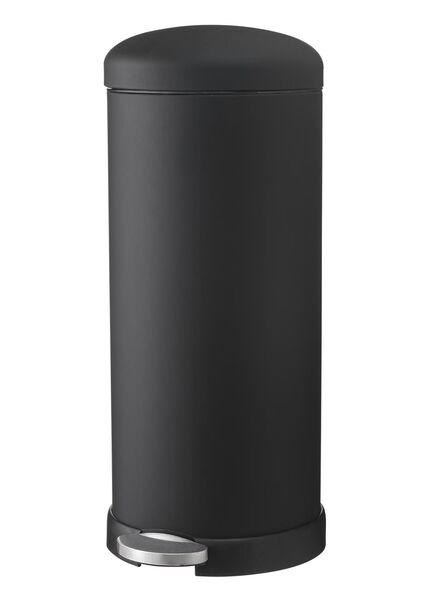 HEMA Prullenbak 30L Zwart