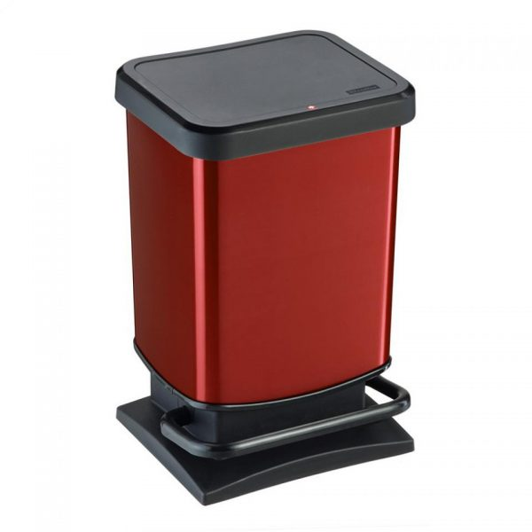 Rotho Paso pedaalemmer 20 l - rood