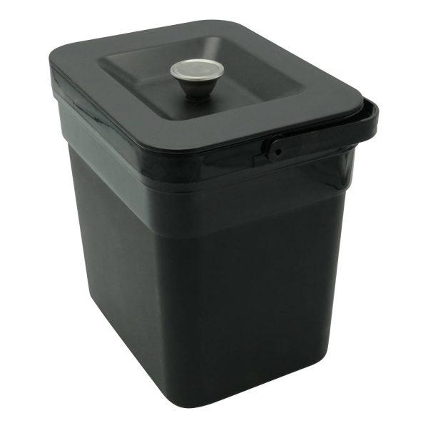 4cookz 4 Liter Gft Afvalbakje Aanrecht - Passend In 4cookz Smart Waste 72 Liter