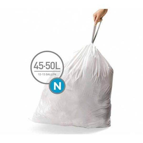 Afvalzakken Code N