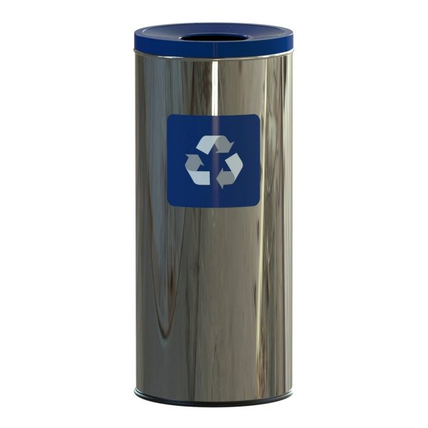 Alda Eco Prestige Prullenbak 45l - Blauw