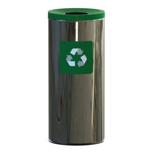 Alda Eco Prestige Prullenbak 45l - Groen