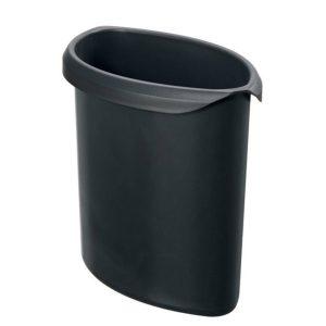 Inzet Voor Afvalbak Han Vlamdovend Zwart