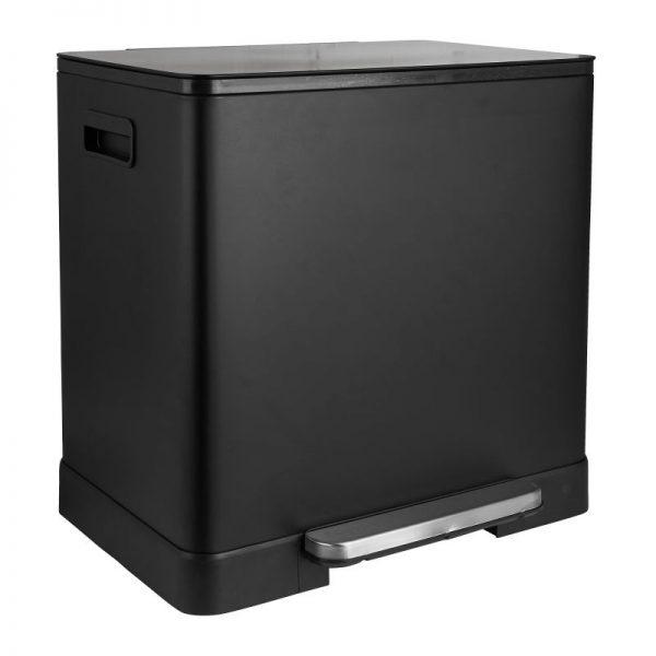 Pedaalemmer - zwart - 2x20 l - Xenos