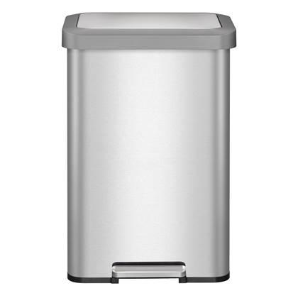 EKO Cozy Pedaalemmer 45 Liter - RVS