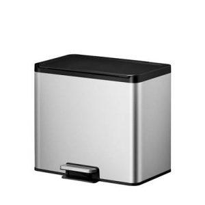EKO Essential Recycler Pedaalemmer 30 Liter (15+15L) - RVS