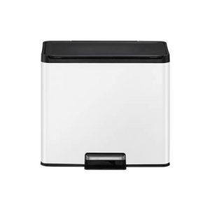EKO Essential Recycler Pedaalemmer 30 Liter (15+15L) - Wit