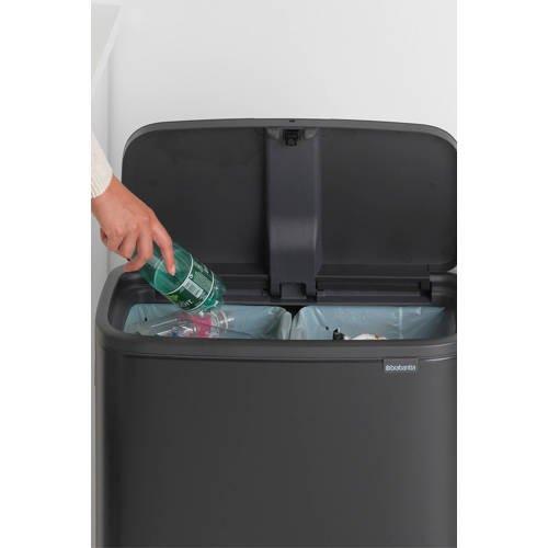 Brabantia Bo Touch bin afvalemmer (2 x 30 liter) - 2