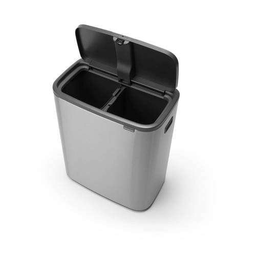 Brabantia Bo Touch bin afvalemmer (2 x 30 liter) - 3