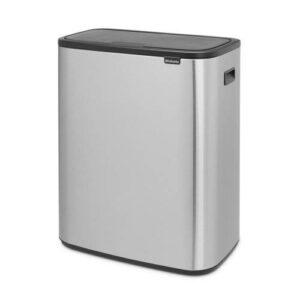 Brabantia Bo Touch bin afvalemmer (2 x 30 liter)