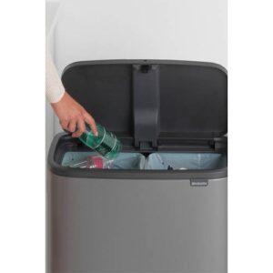 Brabantia Bo Touch bin afvalemmer (2x30 liter) - 2