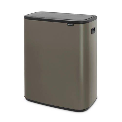 Brabantia Bo Touch bin afvalemmer (2x30 liter)