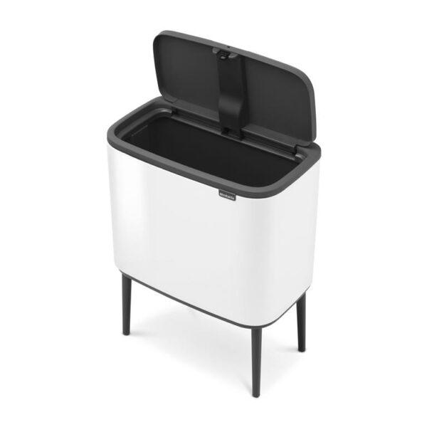 Brabantia Bo Touch - 36 liter - Wit