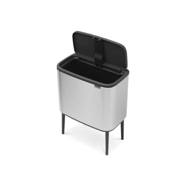 Brabantia Bo Touch Bin - 36 liter - Zilver